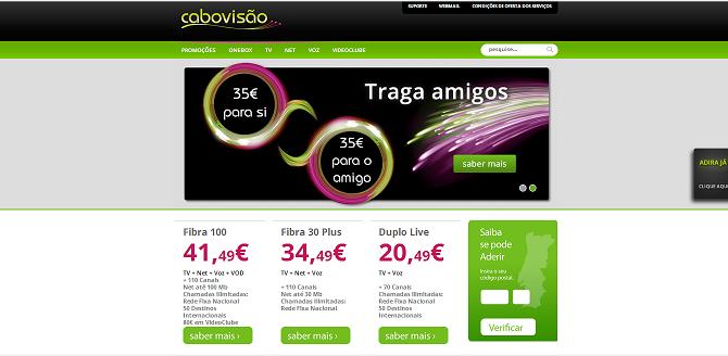 Cabovis%25C3%25A3O Cabovisão Lançou Novo Site