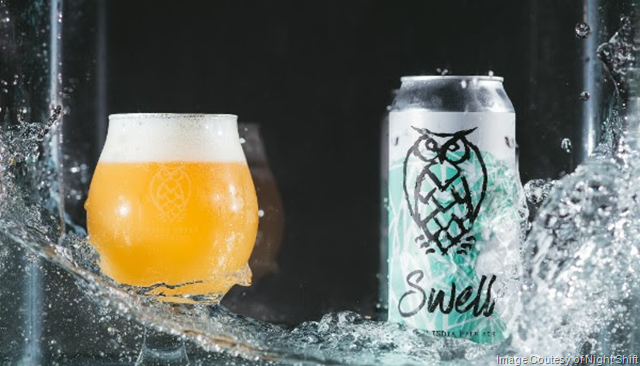 Night Shift Swell DIPA Hitting Distribution