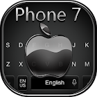 Keyboard for Phone 7 Black icon