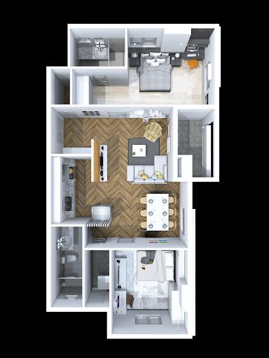 căn hộ B1 chung cư TDH Phước Long