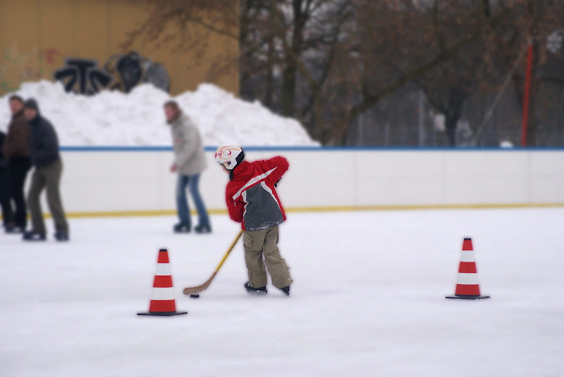 Młoda kadra hokejowa