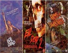 ثلاثية افلام الرعب Evil Dead