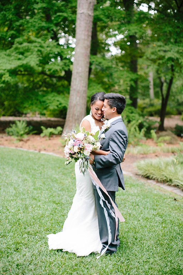 Modern botanical wedding inspiration tidewater and tulle for Wedding dresses in hampton roads