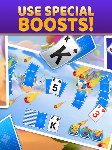 Puzzle Solitaire - Tripeaks Escape with Friends android2mod screenshots 9