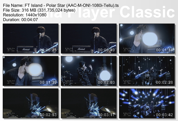 [PV] FT Island   Polar Star (M ON! HD 1080i)