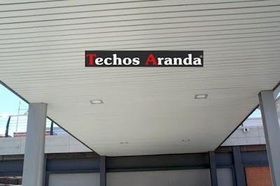 Servicios techos de aluminio Madrid