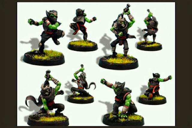 Goblins Blood Bowl Greebo Ninjas