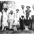 L-R) abt 1928, Eunice, Otis, Halsie , Belva, Luster, Mary Jenkins a (cousin) Mason Jenkins