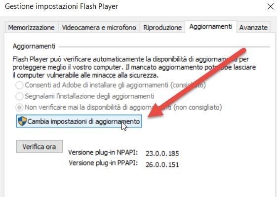 cambia-impostazioni-aggiornamento-flash-player
