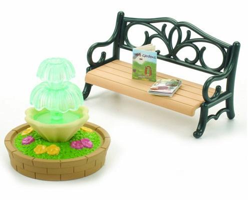 Bộ ghế và bồn nước công viên Bench and Fountain Epoch
