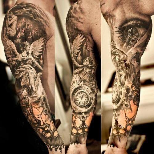 o_trio_de_manga_tatuagens