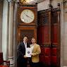 Senator Floor With Lieutenant Jacob Hauser