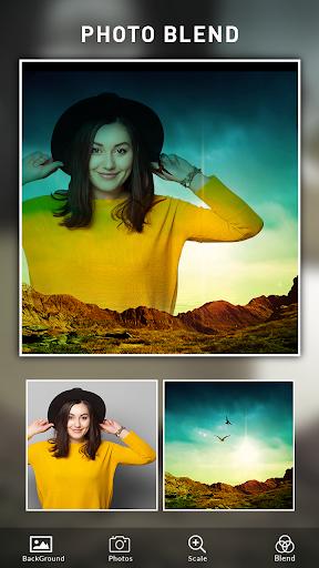 Photo Blend cam: Auto photo mixer blender merger 1.4 screenshots 1