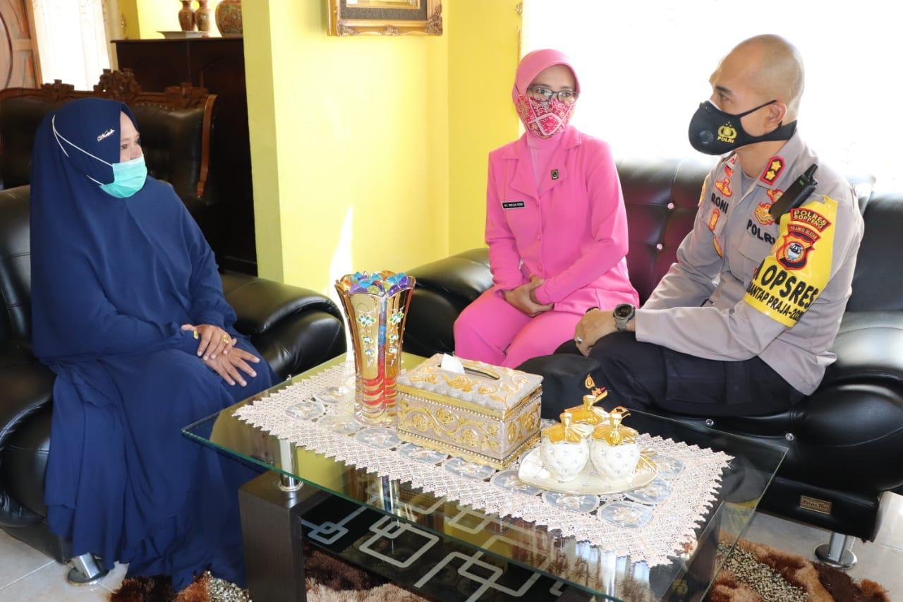 Ramadhan 1442H, Kapolres Soppeng Gelar Anjangsana ke Warakawuri dan KBPP