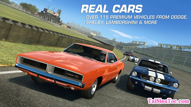 tải game hay cho iPhone real racing 3