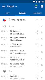 SofaScore Výsledky Live Scores - náhled