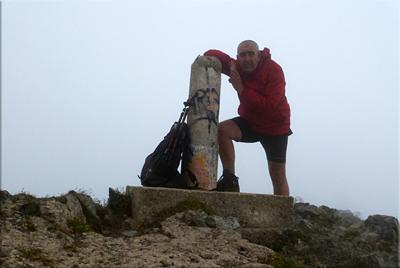 Orhi mendiaren gailurra 2.017 m. -  2012ko uztailaren 7an