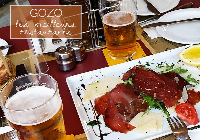 restaurants de Gozo, restaus Malte, où bien manger sur l'île de Gozo, bonnes adresses maltaises, restaurant sans gluten malte