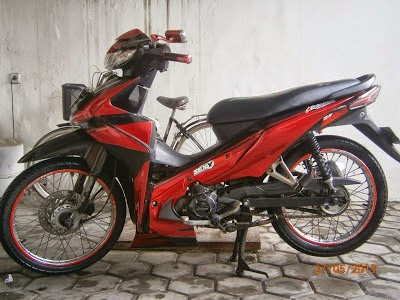 modifikasi revo 100cc