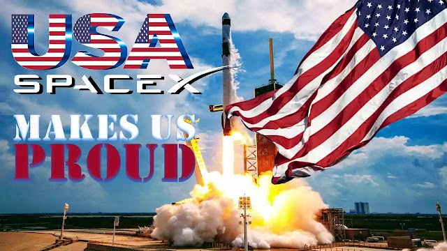 SpaceX makes US proud