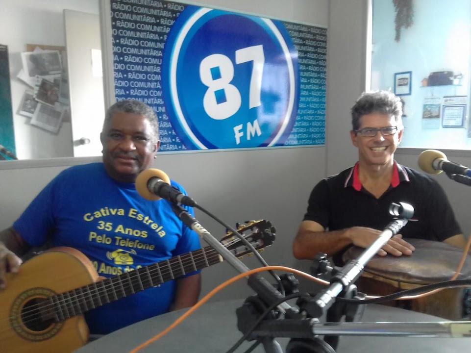 Antônio Carlos (Carlão) e Luiz Fernando (Luiz da Timba)