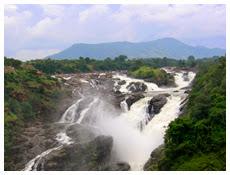 shivanasamudra falls karnataka