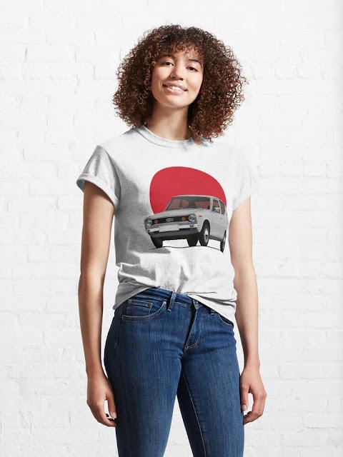 Datsun 100A nousevan auringon maasta t-paita
