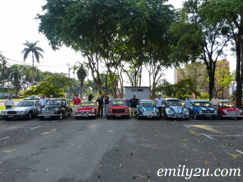 Ipoh vintage cars gathering