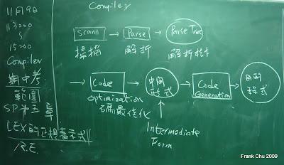 編譯器期中考範圍