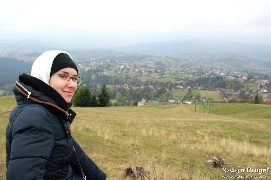 Góra Ochodzita w Koniakowie jesienią