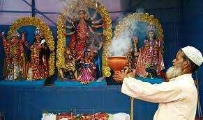 মুসলিম সম্প্রদায়ে দুর্গাপুজো এবছর ৭৩ বছরে পা দিল।