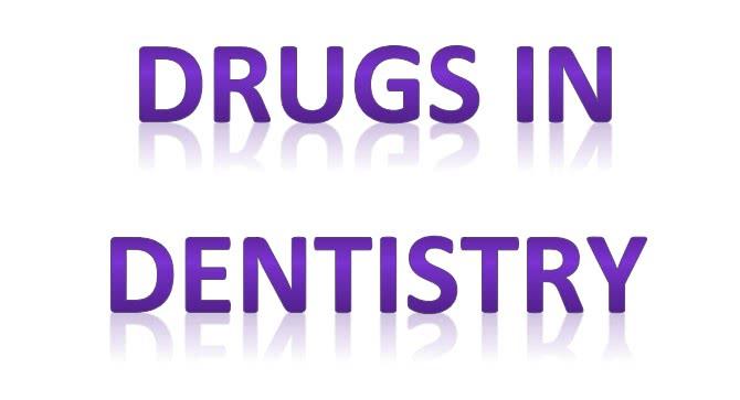 أهم الأدوية المستخدمة في طب الأسنان pdf
