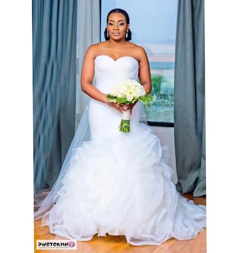 Beautiful Edo Bride Nosen Mayaki weds Olaolu Williams In Lagos
