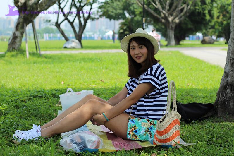 河濱公園野餐