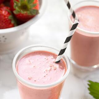 Strawberries & Creme Milkshake