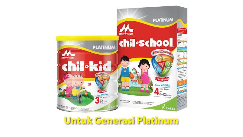 Morinaga Chil-School Untuk Generasi Platinum
