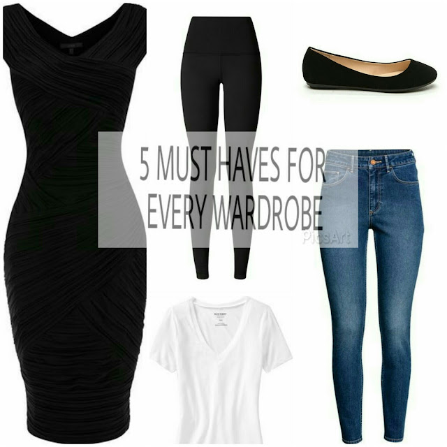 5 MUST HAVES FOR EVERY WARDROBE