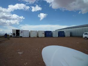 Photo: A bal szélső konténerbe raktuk