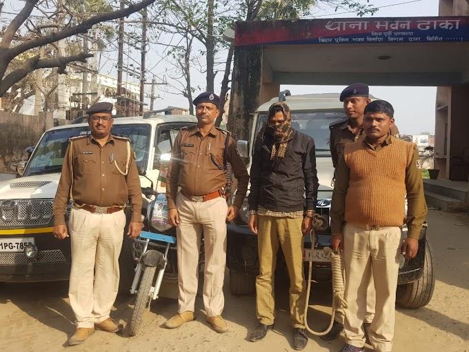 जिला परिषद के भावी उमीदवार चार पहिया वाहन चोर का सरगना गिरफ्तार