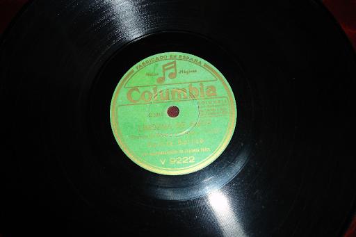 GARCIA GUIRAO disco de pizarra