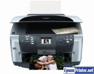 How to reset Epson RX600 printer