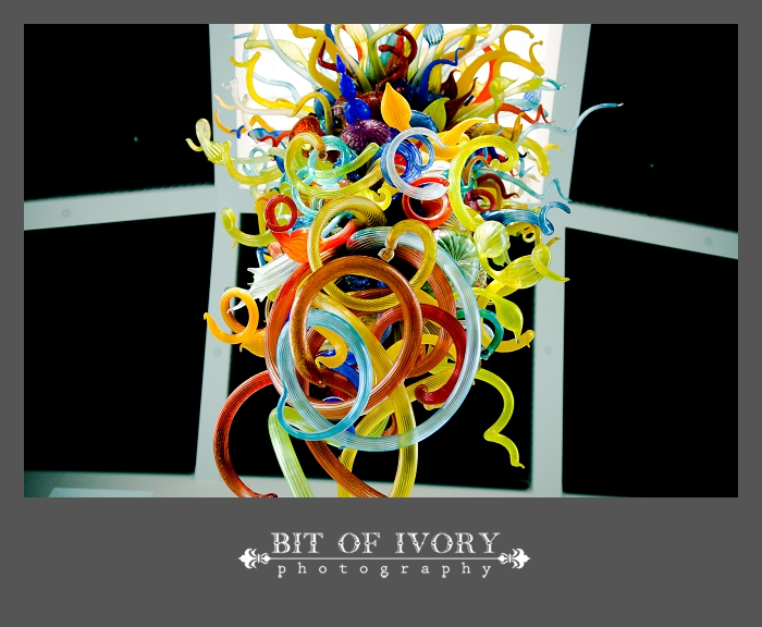 chihuly wedding sculpture