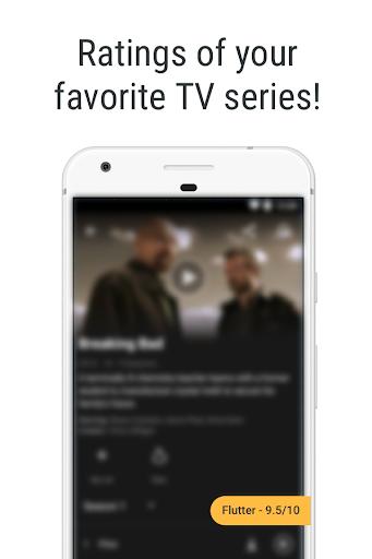 Movie ratings for Netflix - Flutter 0.3.9 screenshots 2