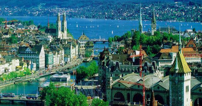 Zurich en Suiza