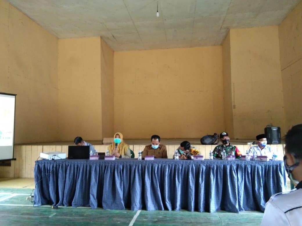Babinsa Koba II Hadiri Rapat Pembentukan Posko RT SIGAP