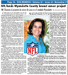 NFL Funds Wyandotte County breast cancer project