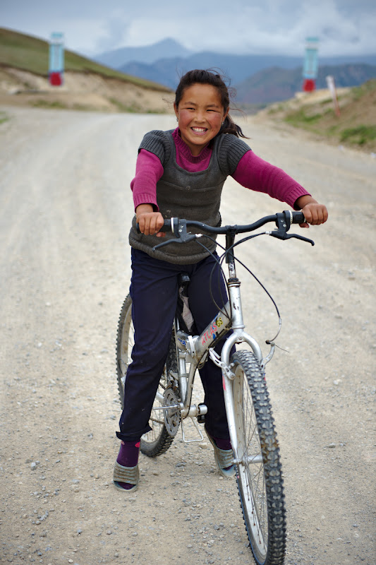 For a child, as well as for a grownup a bike is freedom. Anywhere in the world.