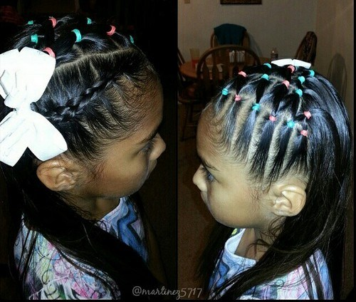 Cute Braided Hairstyles trendy for kids 2017 6