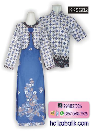 baju batik online, model batik sarimbit, desain batik modern