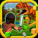 RaptorCraft 3D: Survival Craft ► Dangerous Worlds icon